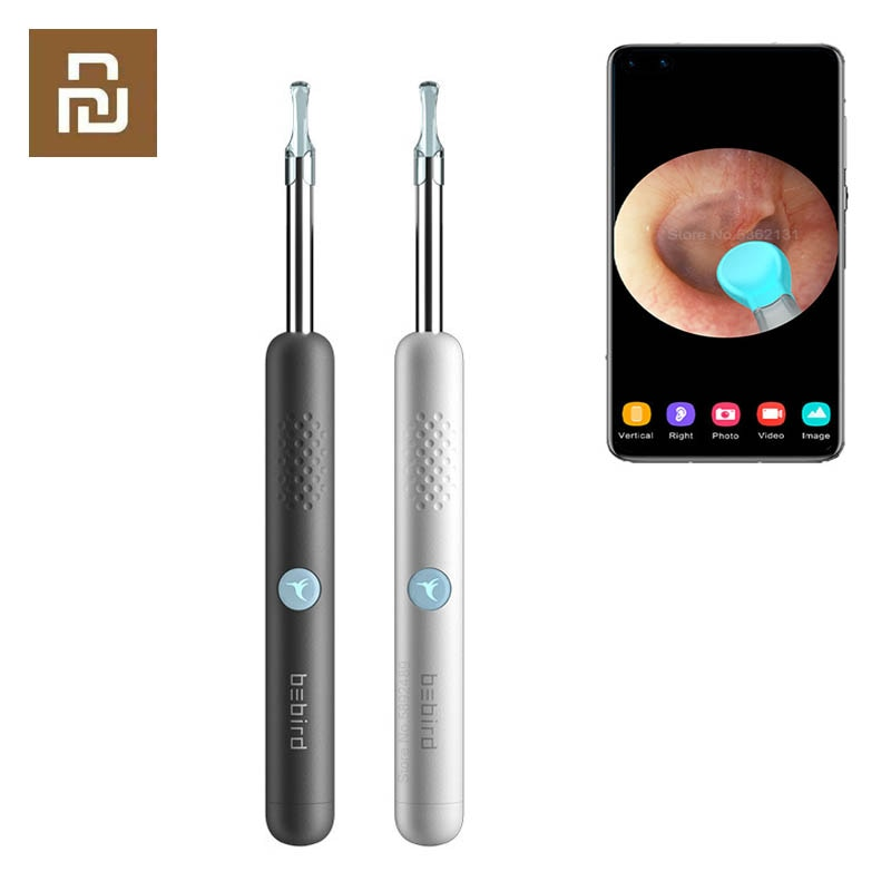 Youpin Bebird R1 3.5mm IP67 HD Visual Ear Spoon In Ear Cleaning Endoscopio Ear Pick Otoscope Boresco