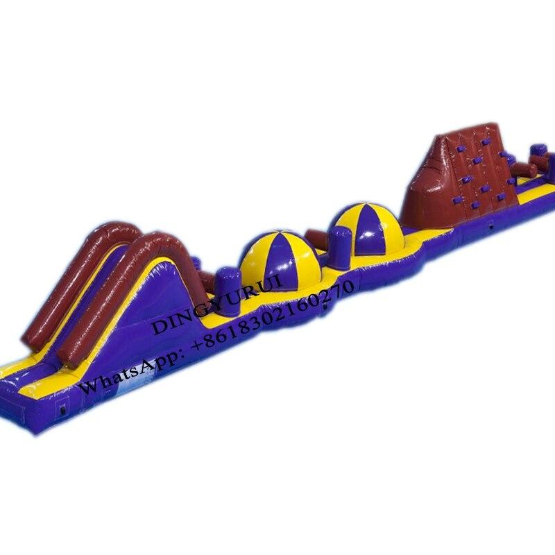 Parque Acuático inflable piscina pista de carrera