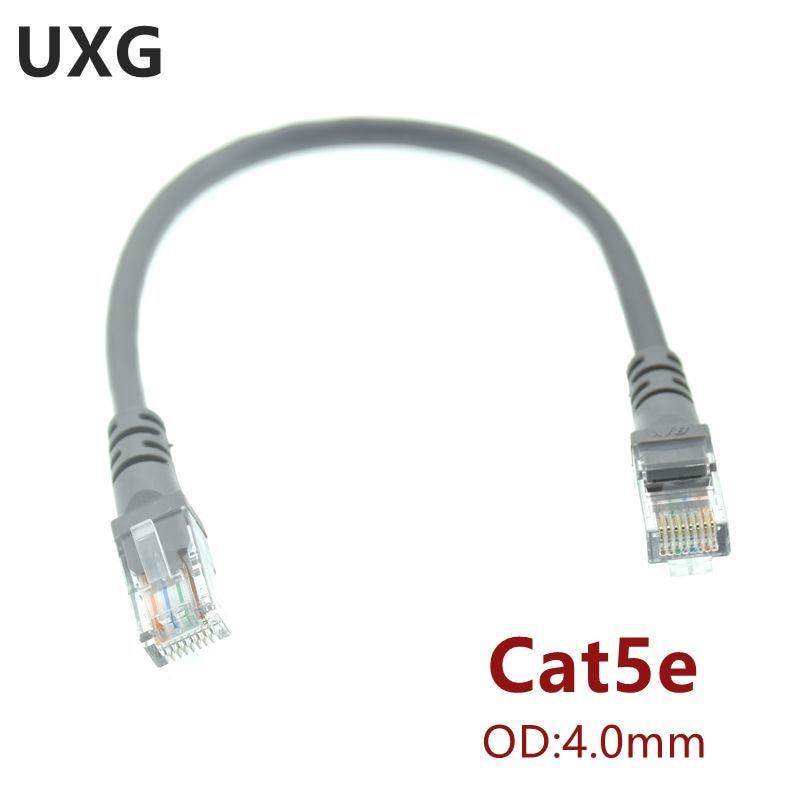 Cable corto de 10CM, 1m, CAT5, CAT5e, CAT6e, UTP, Cable de red...