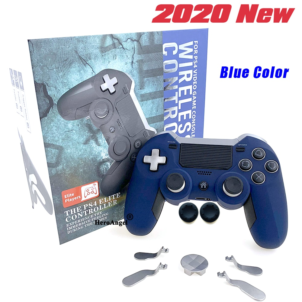 Hot Sale ! Bluetooth Wireless For PS4 Gamepad Dual Vibration Elite Game Console Controller Joystick for PC Video Gaming Console