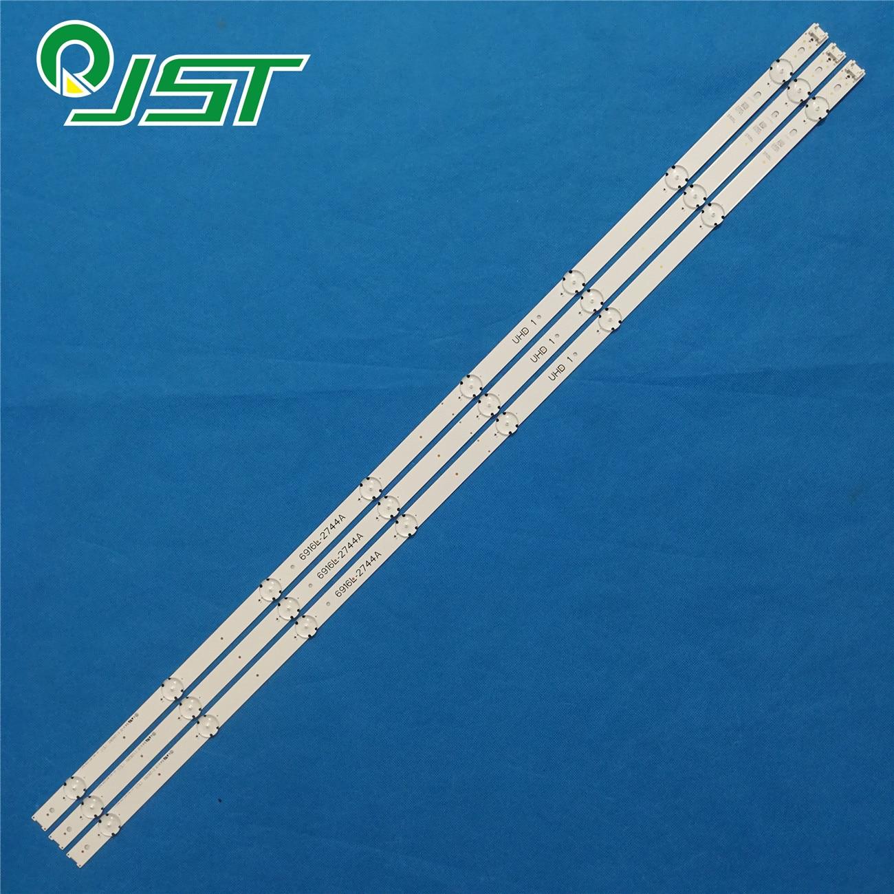 100% nova 36pcs = Kits de tiras de LED para LG 43 12 TV 43UH603V 43UH610A 43UH6030 UD LC430DGE FJ M2 6916L 2744A UHD 1 43 V16.5 ART3 2744