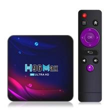 4K HD TV Box Bluetooth 4.0 Android 11 TV Box 2021 H96 MAX V11 Smart TV Box 2.4G 5.8G WIFI Google Voi