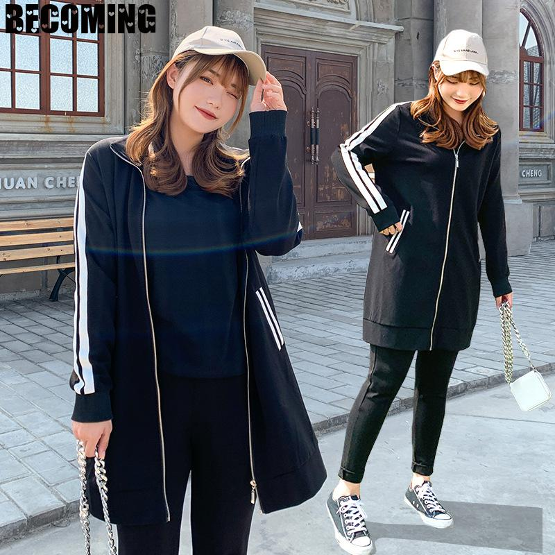 Maternity Women Outwear Medium Pregnant Women Coat Casual Loose Top Pregnancy Clothes 1677521 Maternity Clothes enlarge