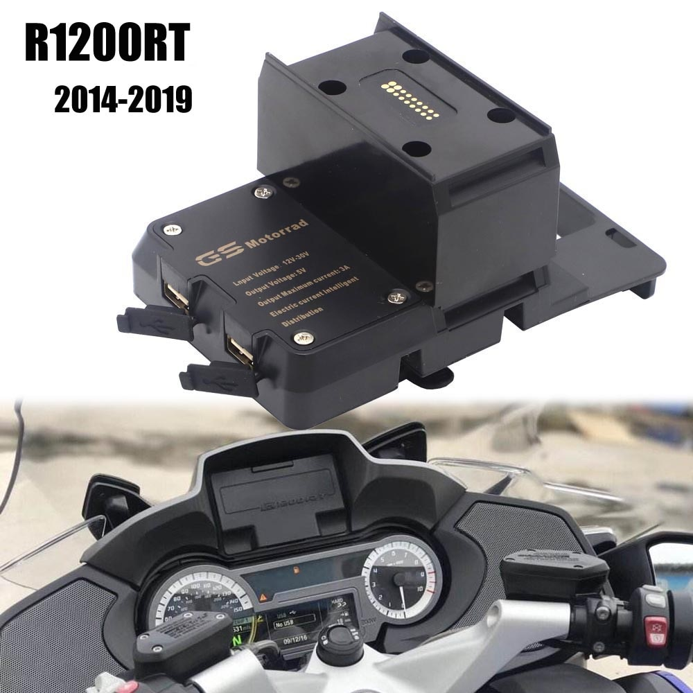 Для BMW R1200RT R1200 RT 2014-2019 мобильный телефон USB навигационный кронштейн для мотоцикла USB зарядка крепление для