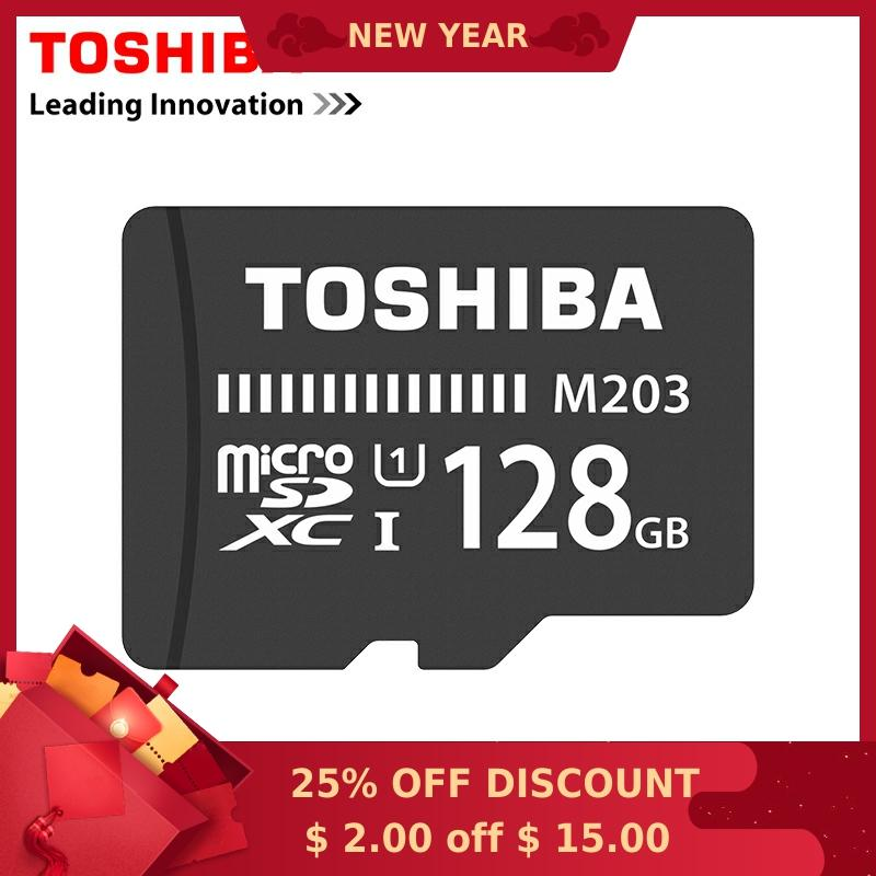 Tarjeta de memoria Toshiba 128GB tarjeta Micro sd Class10 UHS-1 tarjeta de memoria Flash Microsd para tableta/Smartphone verificación oficial