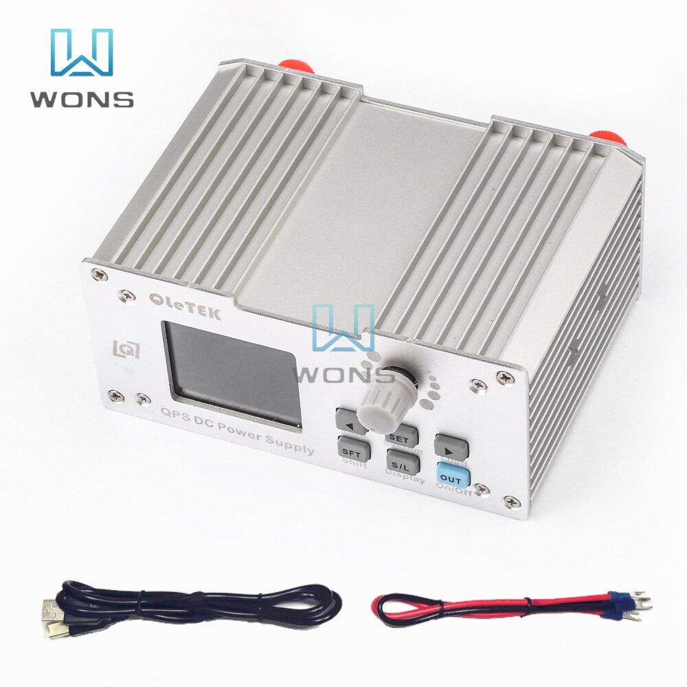 QPS3203S تيار مستمر إلى تيار مستمر الناتج 32 فولت 3A عالية الطاقة للبرمجة عالية الدقة شاشة ملونة نك امدادات الطاقة مع الاتصالات الإلكترون
