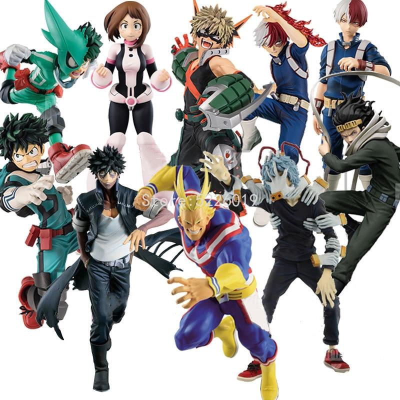 My Hero Academia Anime Figure Midoriya Izuku Figure Bakugou Katsuki Dabi Shigaraki Tomura Boku no Hero Academia Figurine Toys