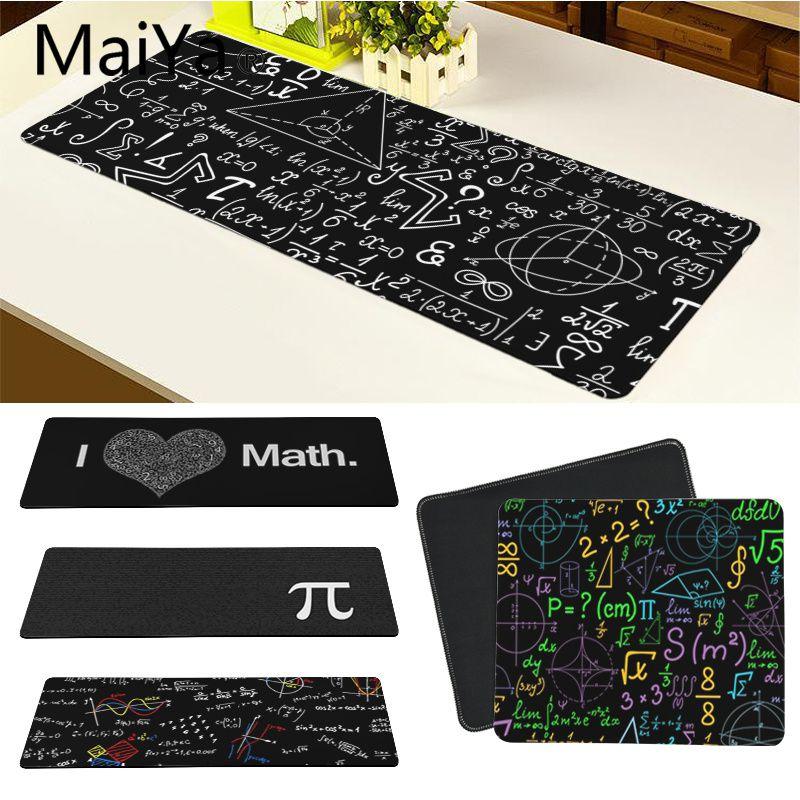 Maiya fórmula geométrica de alta qualidade matemática computador portátil mousepad frete grátis grande mouse pad teclados esteira