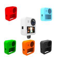 Funda de silicona suave para GoPro tapa de lente máxima funda de cuerpo suave funda protectora marco de goma de silicona para GoPro MAX