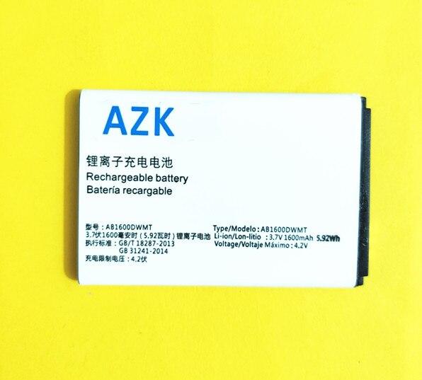 Batería de repuesto 100% AB1600DWMT/AB1600DWML para Philips XENIUM S309 CTS309