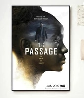 NP156 Decor A La Maison Affiche Dart En Soie Le Passage Movie 1-Sticker Mural Decoration De Noel Cadeau De Mode Classique