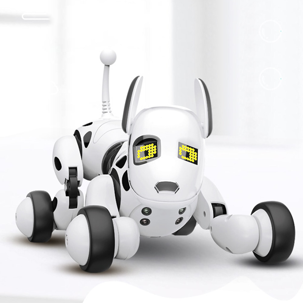Smart Programable Robot Dog 2.4G Remote Control Children Toy Intelligent Talking Electronic Pet for Kids Girls Boys Electric Toy
