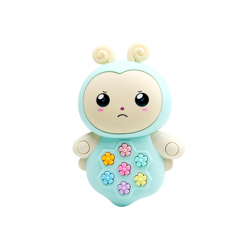 Children's Multifunctional Educational Early Education Learning Machine Toy Baby Cartoon Puzzle Light Music Story Machine недорого