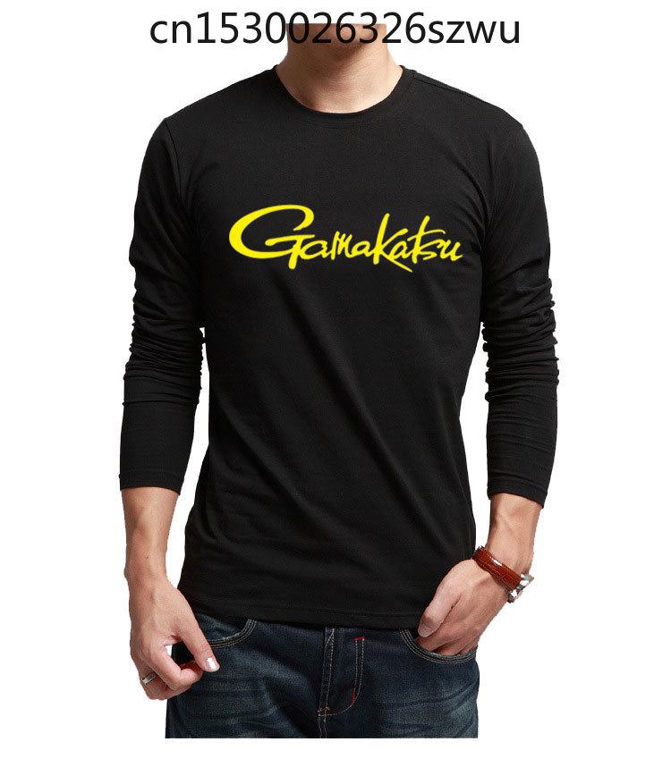 Весна-Осень Одежда для рыбалки GAMA футболка с длинным рукавом для рыбалки Солнцезащитная одежда для рыбалки черные белые рубашки