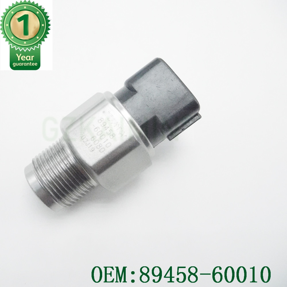 Датчик давления топлива на рельсах OEM 89458-60010 8945860010 для toyotaCorolla 2,5 2AD FHV для D4D AVENSIS RAV4 PRADO HILUX 499000-6080