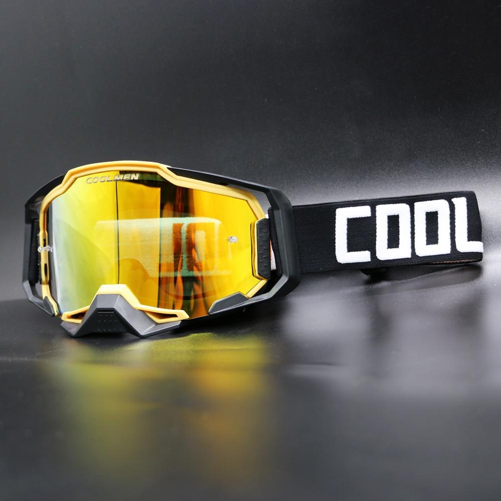 COOLMEN мотоциклетные велосипедные очки для езды на велосипеде MX внедорожные лыжные спортивные квадроциклы гоночные очки для лисы Скотт моток...