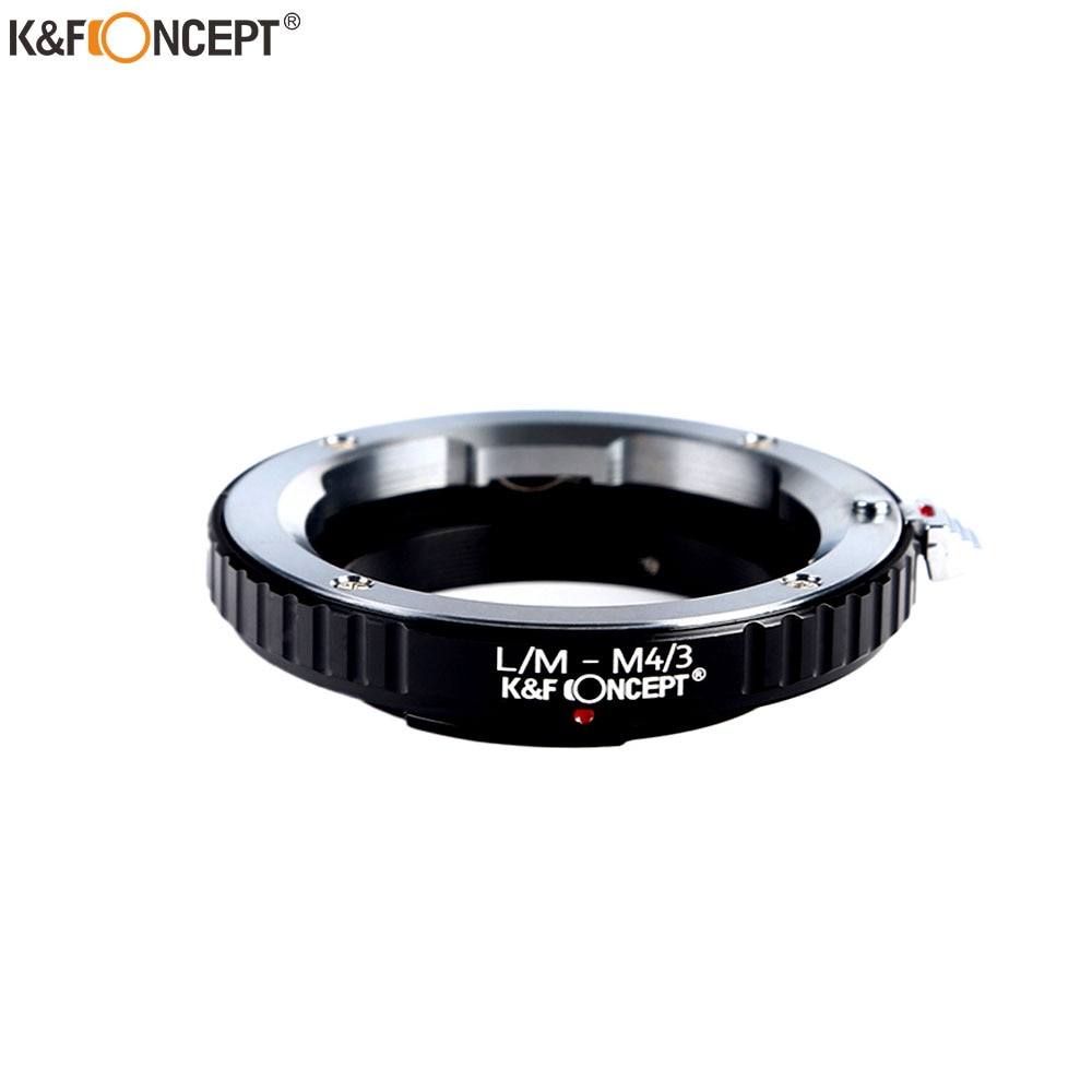 K&F Concept Lens Mount Adapter for Leica M Lens to Micro 4/3 M4/3 M43 Mount Adapter GX1 GX1 EP3 OM-D E-M5 LM-M43 free shipping