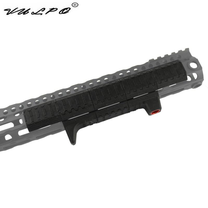 VULPO Tactical Handguard Panel M-LOCK Handguard Rail Cover For M-LOK Slot System Handguard Rail