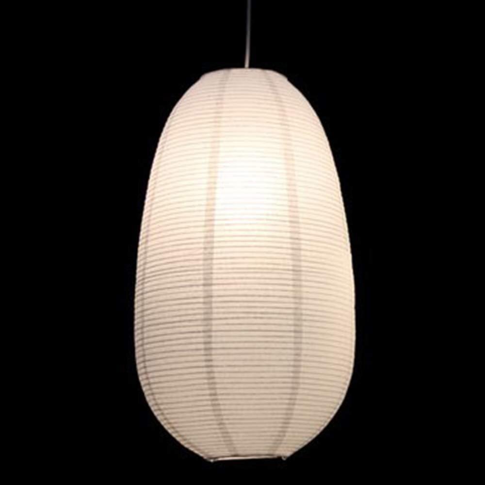 Lámpara colgante de techo de papel japonés, Lámpara decorativa para sala de estudio dormitorio restaurante Bar hogar