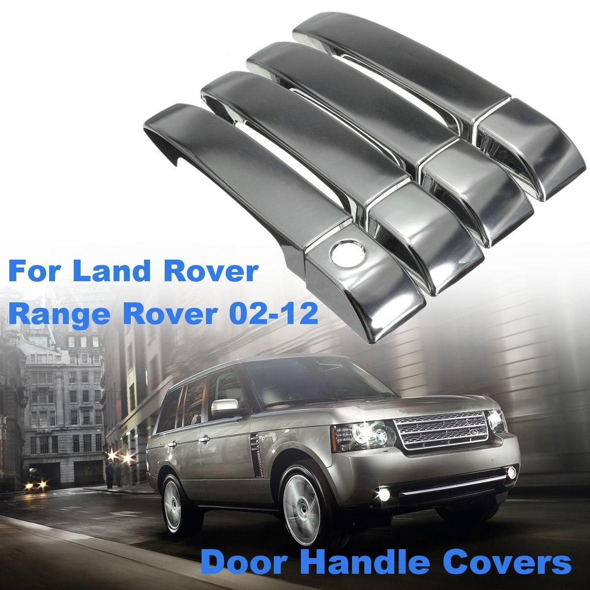 Prata Cromado Door Handle Covers Set para Land Rover Range Rover 2002 2003 2004 2005 2006 2007 2008 2009 2010 2011 2012