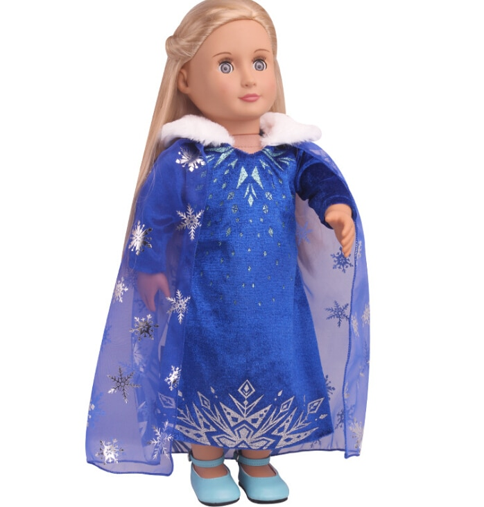 2020 New Clothes  Fit for American Girl Doll 18-inch , Christmas Gift(only sell clothes)
