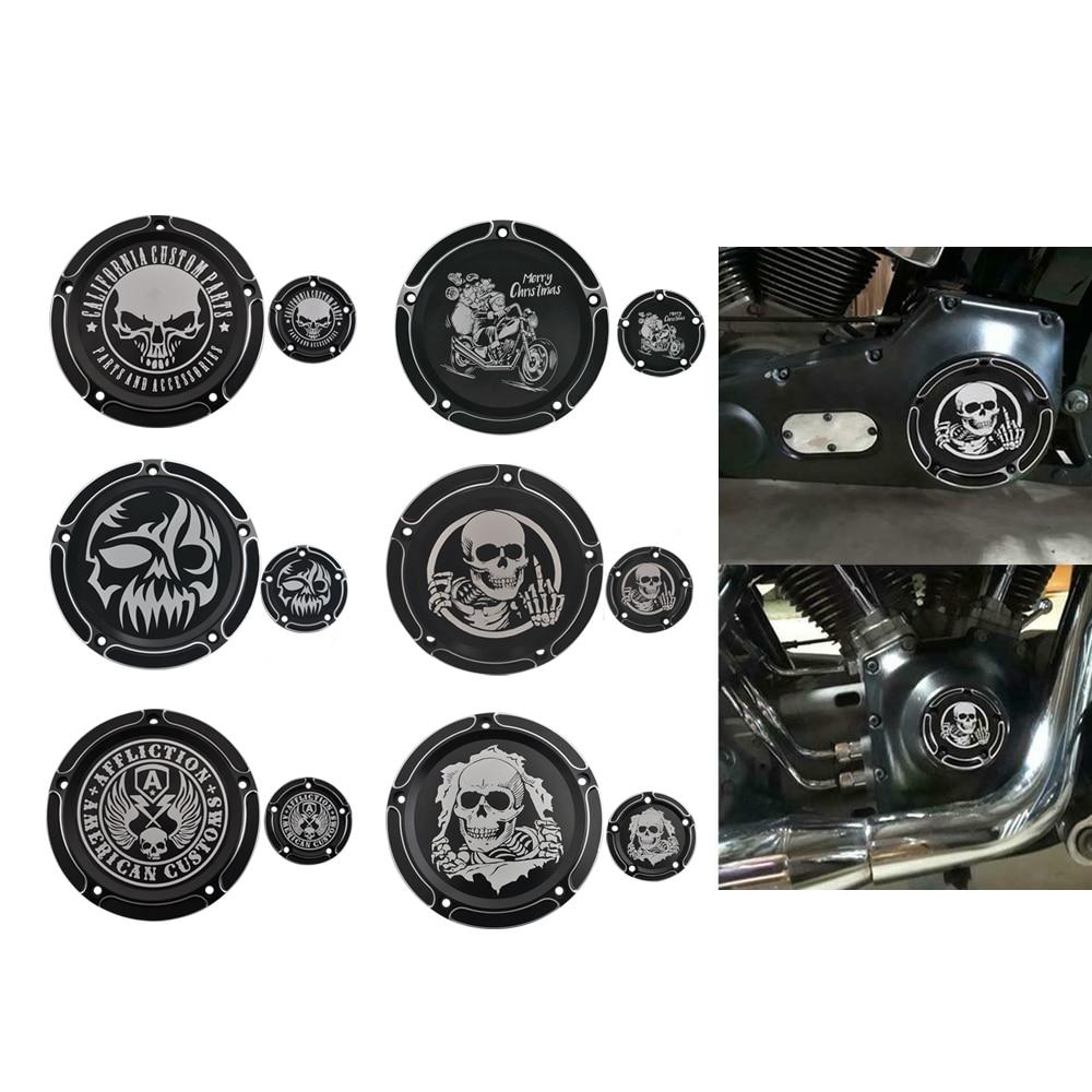 دراجة نارية ديربي توقيت الموقت المحرك غطاء القابض معدات الحماية ل هارلي بجولة إلكترا الإنزلاق الطريق الملك داينا سوفتيل