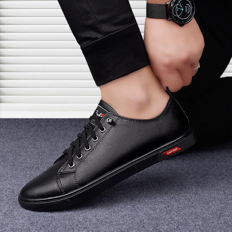 Мужская повседневная обувь, Белая обувь, Мужская модная обувь, мужская спортивная обувь, низкие ботинки, повседневная спортивная обувь боль...