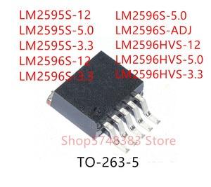 10 шт. LM2595S-12 LM2595S-5.0 LM2595S-3.3 LM2596S-12 LM2596S-3.3 LM2596S-5.0 LM2596S-ADJ LM2596HVS-12 LM2596HVS-5.0 LM2596HVS-3.3