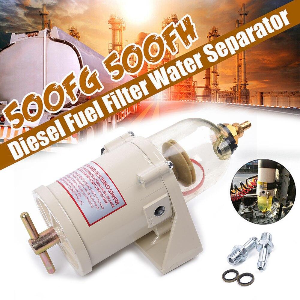 500FG 500FH Diesel filtro de combustible aceite separador de agua juegos de anillos de perno para camión