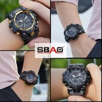 sbao sports mens watch top brand luxury military quartz electronic watches waterproof electronic wristwatch mens watch