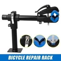 high quality bike cycling bench mount repair rack workstand carbon steel adjustment quick release clamp for mtb mountain bicycle