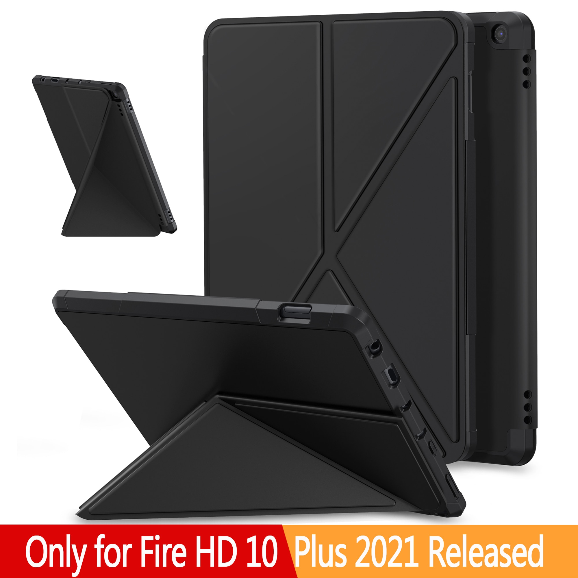 AliExpress - For Fire HD 10 Plus 2021 Case,Multi Angle Magnetic Back Cover for Fire HD 10 Plus 11th Generation Tablet Case