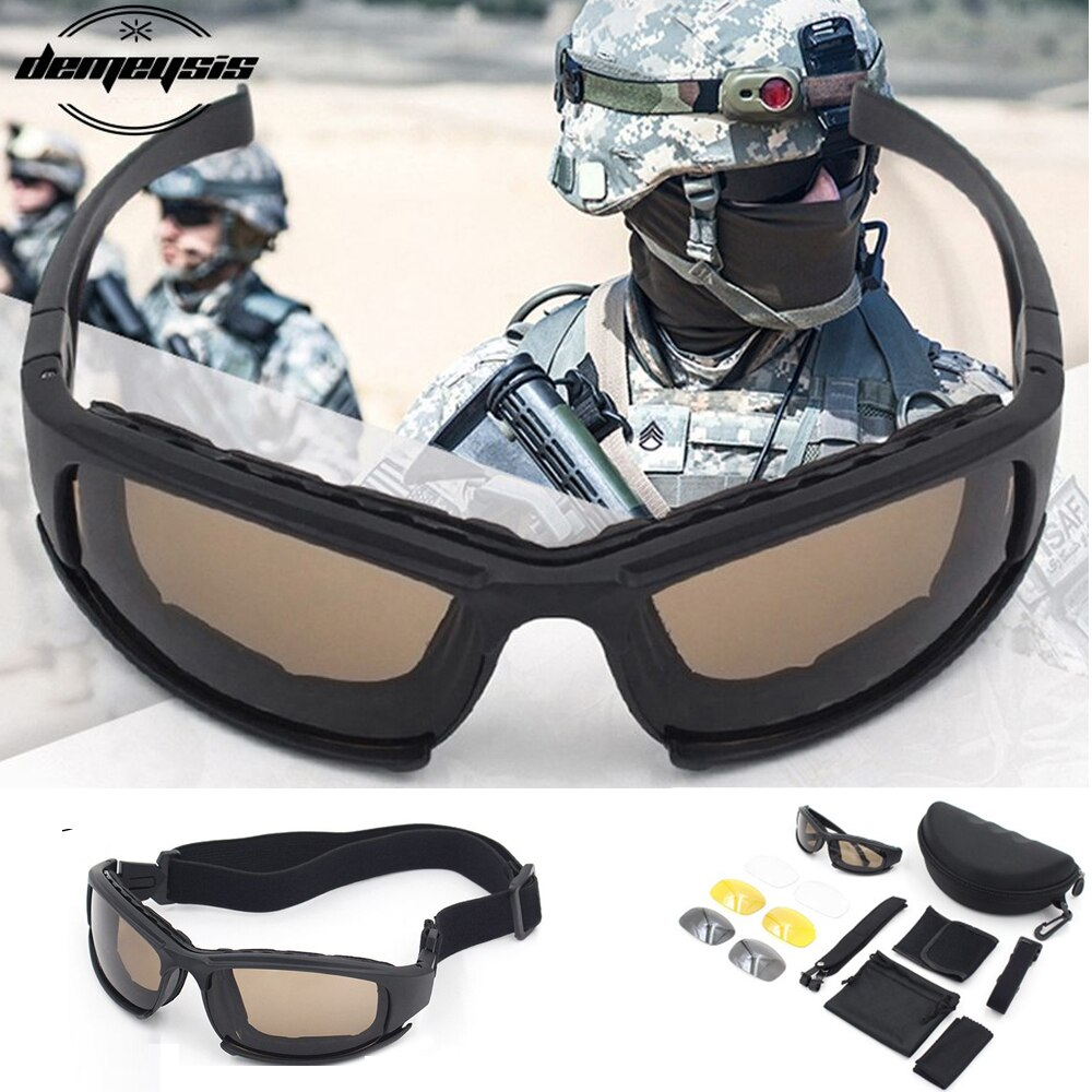 Polarized Military Tactical Glasses Outdoor Sports Climbing Sunglasses Men Hiking Fishing Cycling Gl