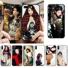 FHNBLJ UI kpop pintado funda para teléfono para iPhone SE2 11 Pro XS MAX XS XR 8 7 6 Plus 5 5S SE caso