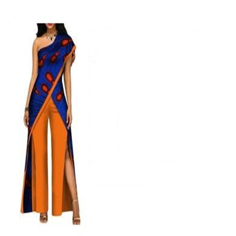 В наличии Размер 2XL африканская женская одежда индивидуальная одежда для вечеринки WY2373