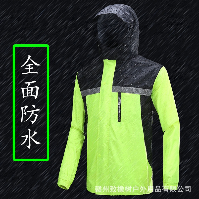 Rain Protection Hooded Raincoats Men Waterproof Outdoor Adult Raincoat Lightweight Body Suit Protective Regenjacke Home Eg50yy enlarge