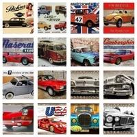 jeeps metal sign bus metal signs vintage decor racing cars garden decoration trucks garage man cave bar accessories home