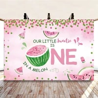 yeele watermelon birthday party baby shower polka dots photography backdrop photographic decoration backgrounds for photo studio