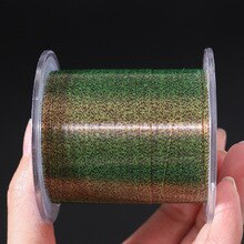 500M Invisible Spoted Super Strong Carp Fishing Line  Monofilament Fishing Line Speckle Fluorocarbon Coated Fishing Line Pesca