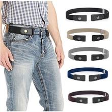 No Buckle Show Belt for Men Buckle Free Stretch Belt for Jeans Pants ,No Hassle Waist Belt
