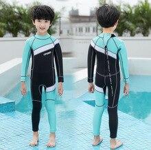 Hisea Childen ملابس الغوص 2.5 مللي متر النيوبرين مطاطا السباحة تصفح Spearfishing دعوى ملابس الأولاد ملابس السباحة معدات غطس