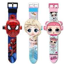 Boys and Girls Watches Kids 3D Projection Cartoon Children Watch Boys Digital Wristwatch Dropshippin