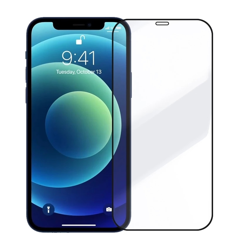 Tempered Glass For iPhone 12 Pro Max Screen Protector For iPhone 11 Full Cover Glass 6 6S 7 8 Plus X
