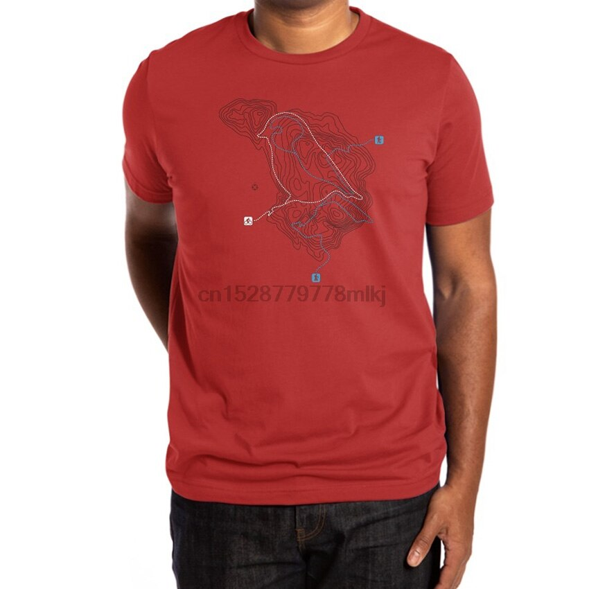 Camiseta Take A Hike aves bicicletas senderismo líneas punteadas mapas topografía senderos