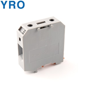 Din Rail Terminal Block UKH-95N Connector Return Pull Type Spring Connection Screwless Copper Conductor