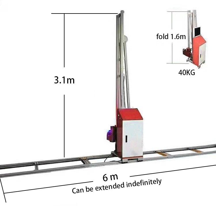3D вертикальные настенные печатные машины прямо к настенному принтеру