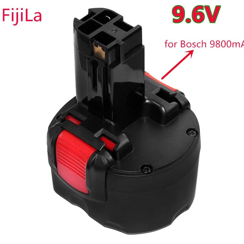2020 BAT048 9,6 V 9800mAh batería de herramientas eléctricas de batería recargable ni-cd 9800mAh para Bosch PSR 960 BH984 BAT048 BAT119