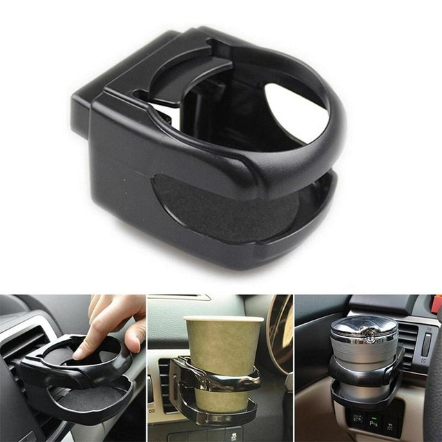 Car Cup Holder Outlet Air Vent Cup Rack Beverage Mount Insert Stand Holder Drink Bottle Stand Container Hook Car Accessories 4
