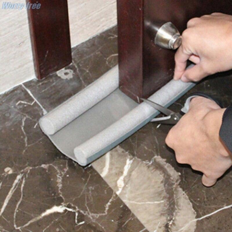 95 см Гибкая Нижняя уплотнительная лента для двери, уплотнитель, стопор, уплотнитель для двери, защита от ветра, защита от пыли, уплотнитель, с...