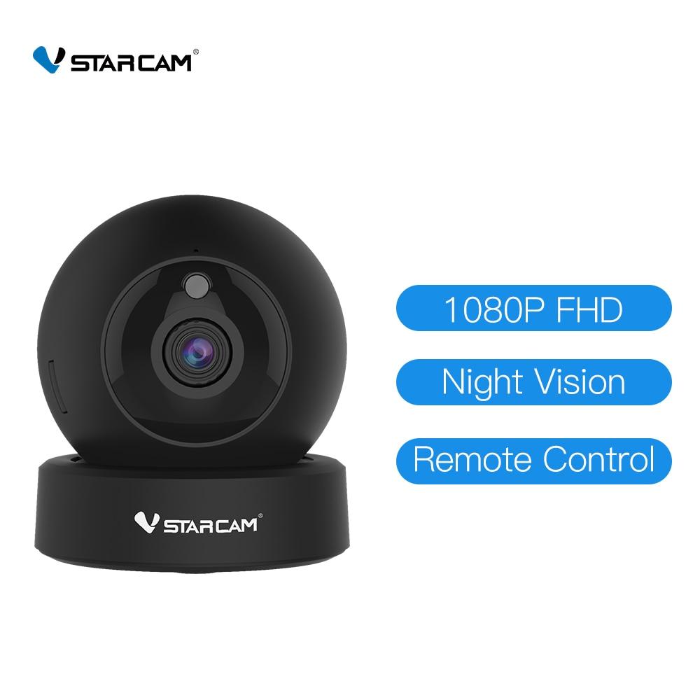 Vstarcam HD 1080P 2MP كاميرا IP اتجاهين الصوت كاميرا صغيرة لاسلكية للرؤية الليلية CCTV واي فاي الكاميرا